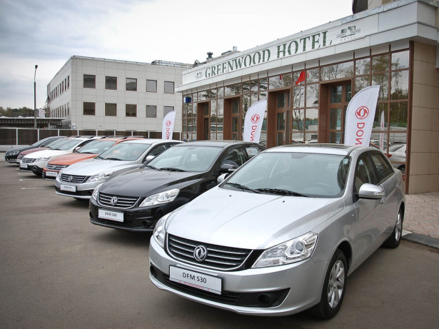 DongFeng H30 Cross и седан S30 2014 Фото 05