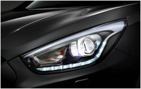 Hyundai ix35 фары