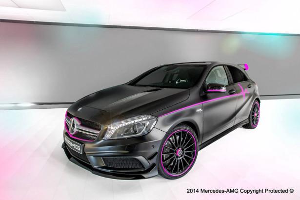 Mercedes A 45 AMG 2014 Фото 01