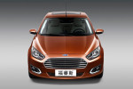 The all-new Ford Escort is unveiled at Auto China 2014