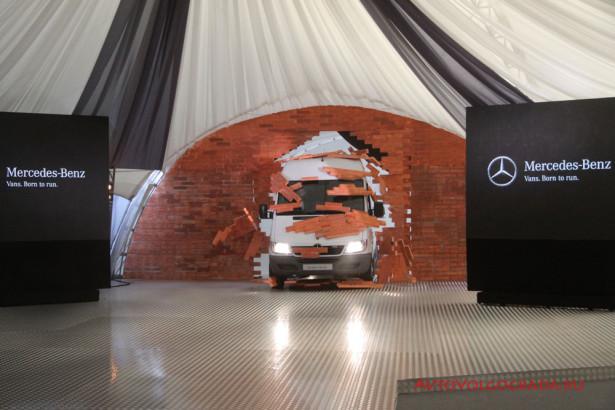 Тест-драйв Mercedes-Benz в Москве 2014 Фото 13