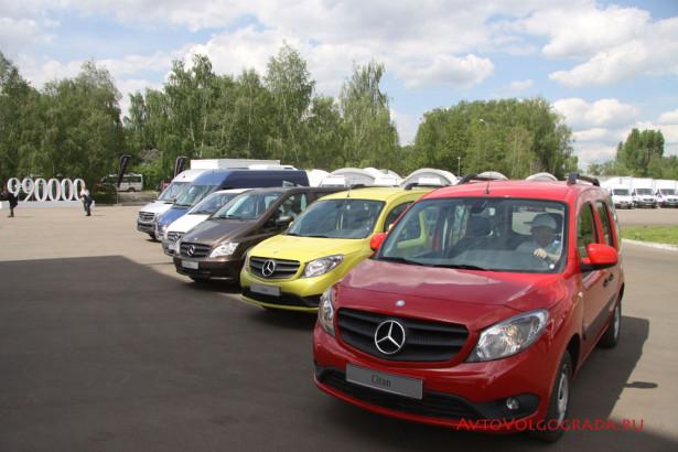 Тест-драйв Mercedes-Benz в Москве 2014 Фото 67