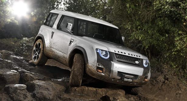 концепт Land Rover DC100 2013