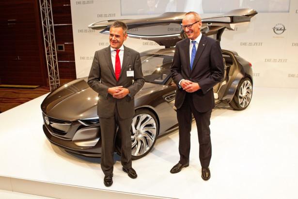 концепт Opel Monza 2015 Фото 02