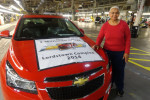 производство Chevrolet Cruze 2015 Фото 05
