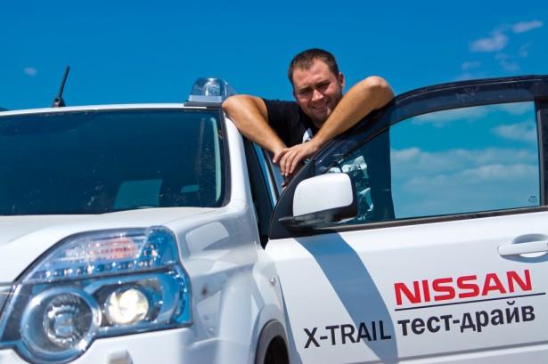 Главный герой и Nissan Арконт
