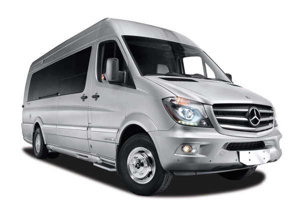 Airstream и Mercedes - Vip автомобиль Autobahn