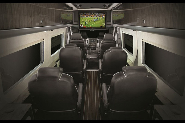The all-new Airstream Autobahn® luxury passenger van
