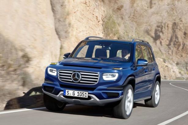 Mercedes G-Wagen Фото 02
