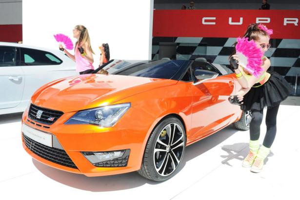 Seat Ibiza Cupster 2014 Фото 08