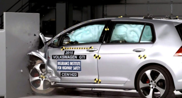 Volkswagen GTI краш-тест