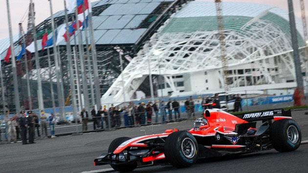 сочинский этап «Формулы-1»