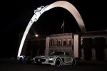 Goodwood Festival 2014 статуя Mercedes Фото 03