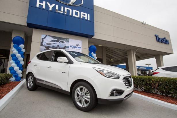 Hyundai Tucson (ix35) Fuel Cell Фото 01