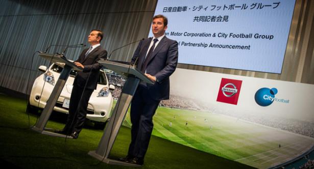 Nissan будет спонсором Манчестер Сити