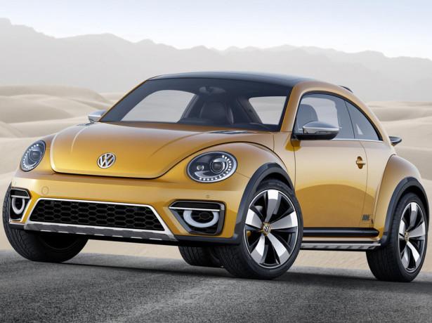 Volkswagen Beetle Dune 2015 Фото 10