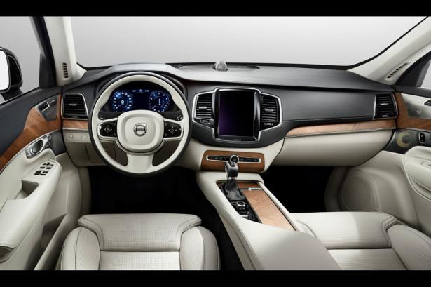 интерьер Volvo XC90 2014 Фото 01