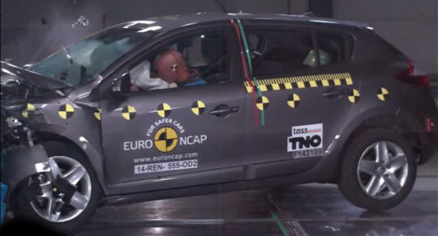 краш-тест EuroNCAP Renault Megane