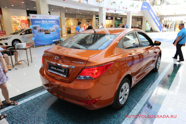 Hyundai solaris от компании агат в волгограде