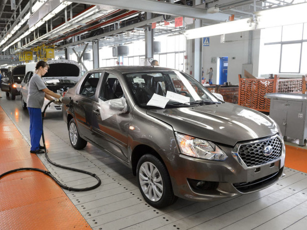 производство Datsun on-DO 2014