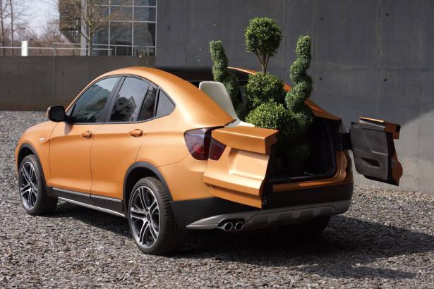 BMW X4 кабриолет концепт Фото 01