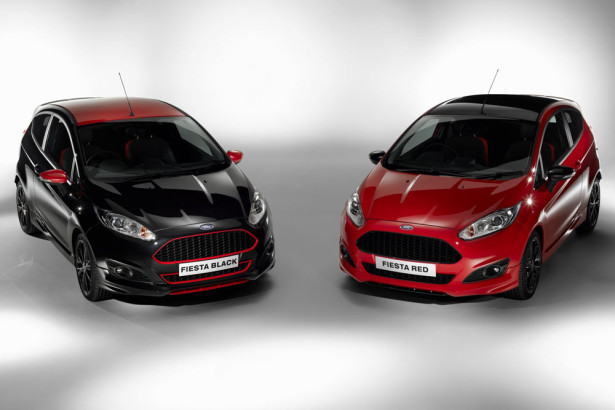 Ford Fiesta Black Red Edition 2014 фото 01