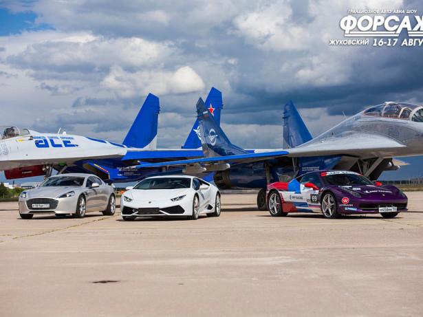 Истребители против суперкаров 2014 Фото 03