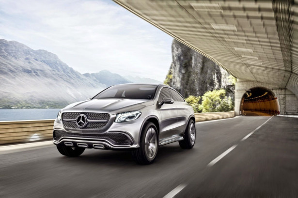 Mercedes купе MLC 2015  Фото 01