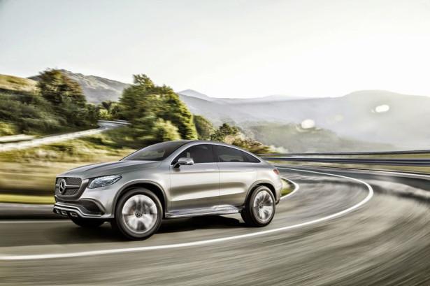 Mercedes купе MLC 2015  Фото 02