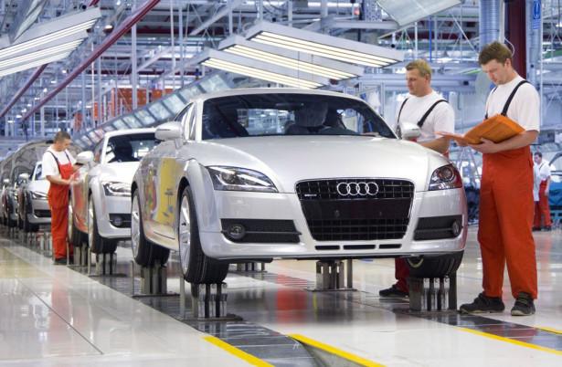 Венгрия завод Audi