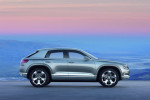 Volkswagen Cross Coupe Concept Фото 01