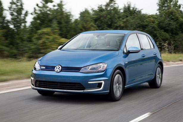 электрический Volkswagen e-Golf 2014 Фото 01