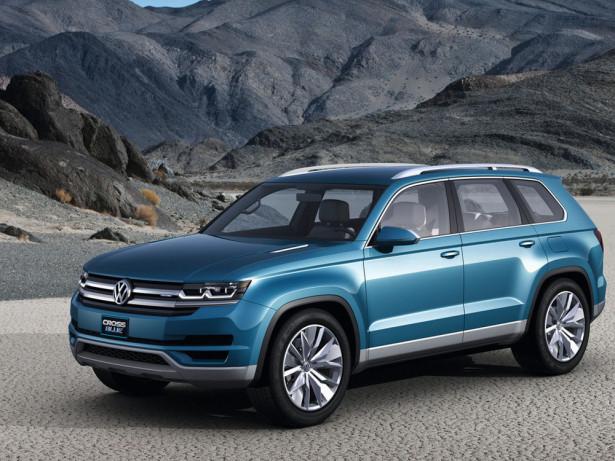 концепт Volkswagen CrossBlue