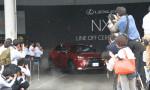 производство Lexus NX 2015 в Японии 2014 Фото 01