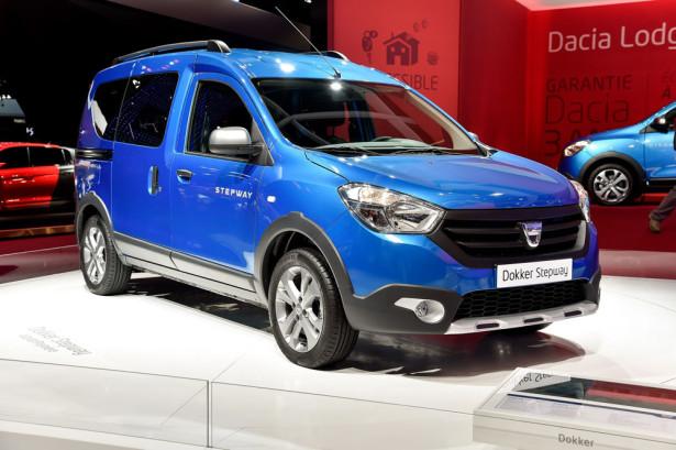 Dacia Dokker Stepway 2014 Фото 13