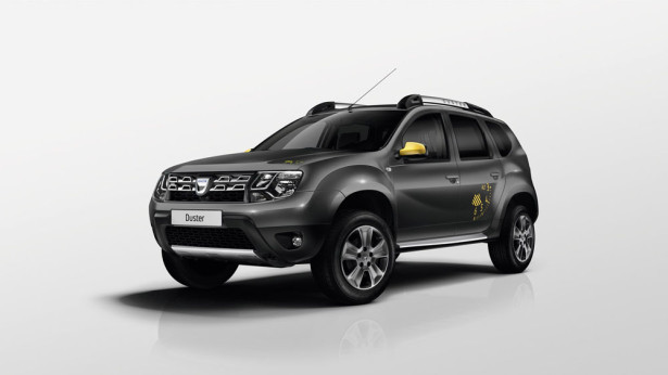 Dacia Duster Blackstorm 2015 Фото 12
