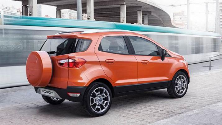 Ford Ecosport - экстерьер - вид сзади