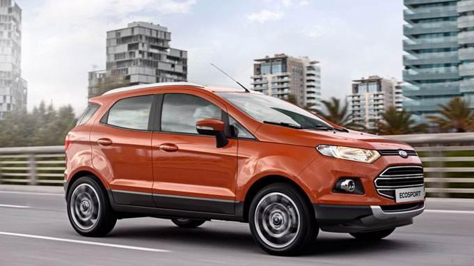 Ford Ecosport - экстерьер
