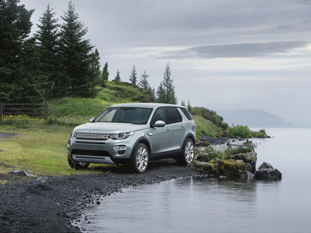 Land Rover Discovery Sport 2015 Фото 09