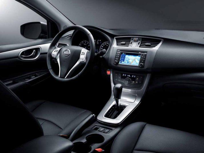 Nissan Sentra интерьер
