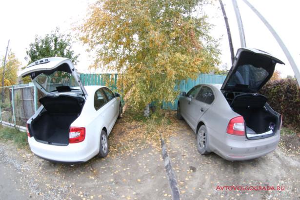 Skoda Rapid и Skoda Octavia A6