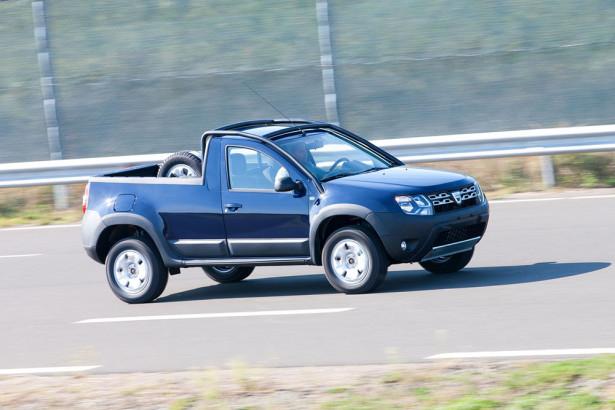 пикап Dacia Duster 2015 Фото 08