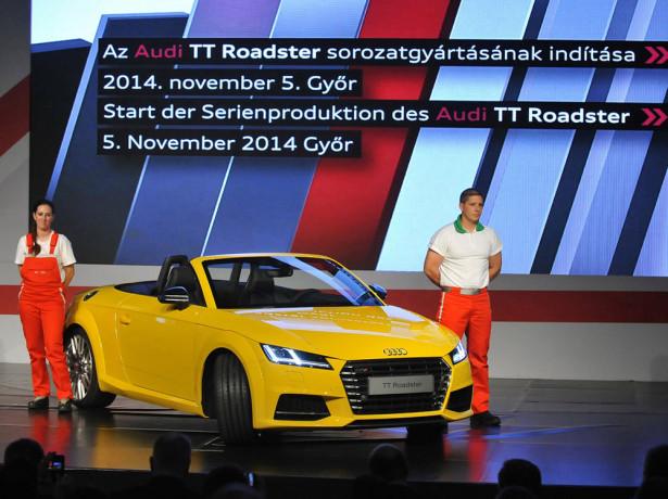 Audi TT 2015 Фото 07