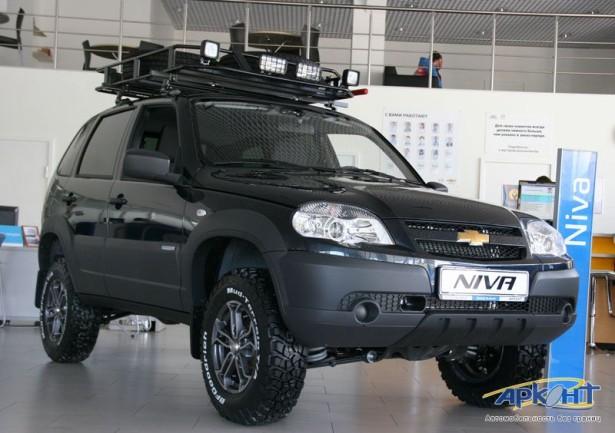 Chevrolet Niva тюнинг