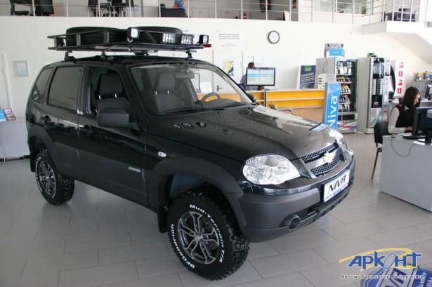 Chevrolet Niva тюнинг Аркон