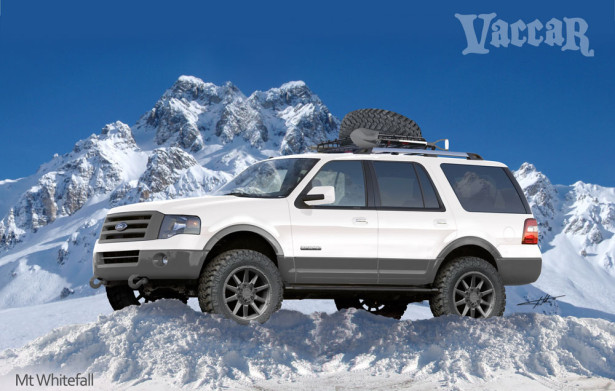Ford Expedition XLT by Vaccar 2015 Фото 2