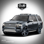 Ford Expedition by DUB-Magazine 2015 Фото 1