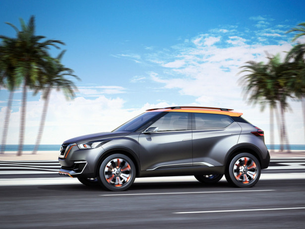 Nissan Kicks Concept 2015 Фото 16