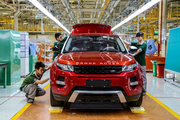 Range Rover Evoque завод Китай Фото 02