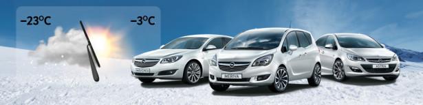 Зимняя диагностика Opel 1